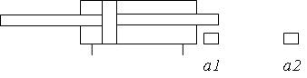 Гидроцилиндр с двусторонним штоком